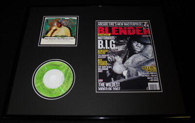 Notorious BIG Framed 16x20 Mo Money Mo Problems CD & Photo Display