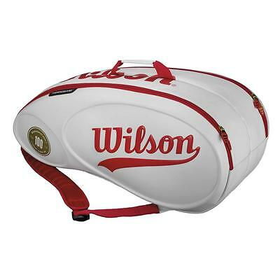 Wilson 100 Year Tour Molded 9pk Tennis Bag Holdall - RRP: £99.99