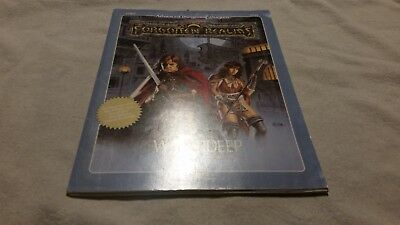 AD&D 2nd edition forgotten realms  Waterdeep expansion FR3 9249