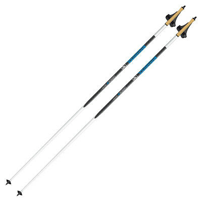 ROSSIGNOL Carbon 30 XC Cross Country Ski Poles | NEW | RDE9560
