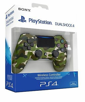 Dualshock 4 Sony Ps4 Green Camo Controller Mimetico Playstation 4 V2 Militare