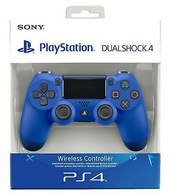 Controller Sony Wireless Ps4 Dualshock 4 Pad Blue Playstation 4 V2 Joystick