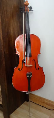Stentor Cello 1/2 With Soft Case and Bow