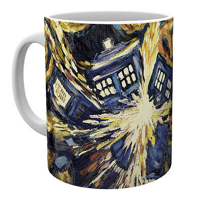 BBC Dr Who Ceramic Mug Exploding Tardis Cup Tea Gift Official Licensed Product