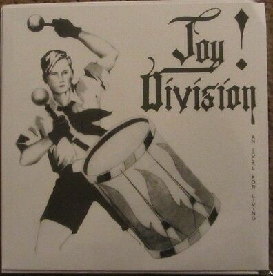 "JOY DIVISION ""An Ideal for Living"" 7"" EP Grey Vinyl Fold out Slv SEALED"