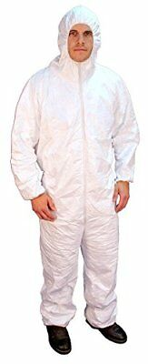 Buffalo Industries 68507 Hooded Polypro Disposable Coverall - Size XXXL