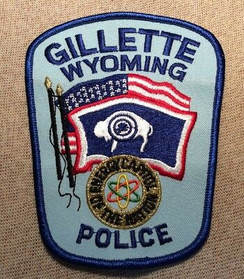 WY Gillette Wyoming Police Patch