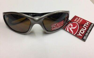 Rawlings Youth 108 Grey/Yellow Sunglasses UV protection impact resistant