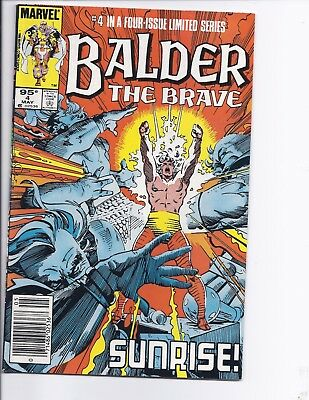 Canadian Newsstand Edition $0.95 Price Variant Balder the Brave #4