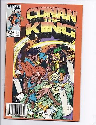 Canadian Newsstand Edition $1.50 Price Variant Conan the King #28