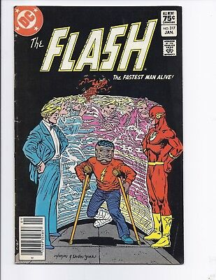 Canadian Newsstand Edition $0.75 Price Variant Flash #317
