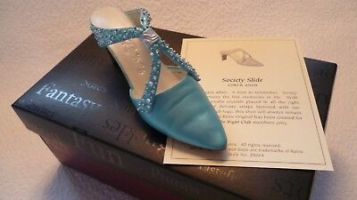 *NEW* Just The Right Shoe - Society Slide - Raine Collectable Boxed
