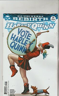 Dc Comics Harley Quinn #29 December 2017 Rebirth Variant 1St Print Nm
