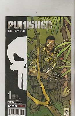 Marvel Max Comics Punisher The Platoon #1 December 2017 1St Print Nm