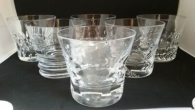 Baccarat 6 Verres Gobelets Everyday Baccarat Classic
