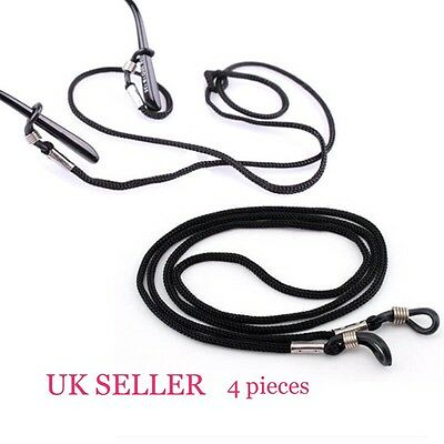 Neck Cord Lanyard Glasses Straps Spectacles And Sunglasses 4 Pieces UK SELLER