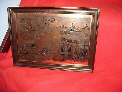 Collectable Bronze Metal Effect 'the Great War' Plaque In Great Condition