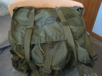 US Military Army Combat Field Rucksack Alice Nylon Backpack LC-1 Medium no strap
