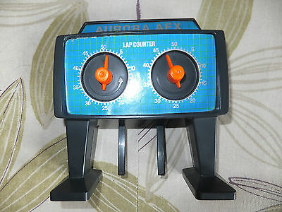AFX Tomy 50 lap counter track, excellent cond. Aurora,,Tyco, Micro ho