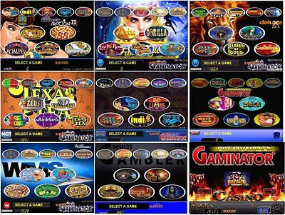 Gaminator  SUPER COMBO Systems for Pc Based Slot Machine Professional Software