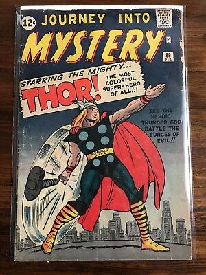 Journey Into Mystery, Thor #89 bright cover !!!