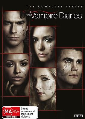 Vampire Diaries The Complete Series Season 1+2+3+4+5+6+7+8 DVD Box Set R4 Sales