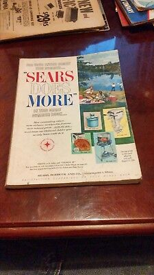 Vintage 1961 Sears Summer Catalog! Unusual Fashions! Bikes! Boats! Sports! More!
