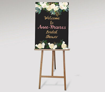 Welcome Sign - To your hens / baby shower / engagement / wedding  bridal shower