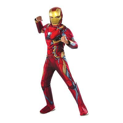 NEW Marvel Avengers Age Of Ultron Iron Man Character Costume Size 3 - 5