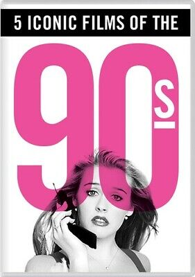 5 Iconic Films of the '90s [New DVD] Boxed Set, Dolby, Dubbed, Subtitled, Wide