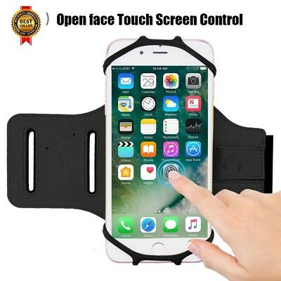 iPhone 8/7/6S/6 Plus Sports Armband, Open-Face Touch Screen Control Rotatable NE