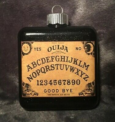 Ouija Board Glass Halloween Ornament Witch Wizard Wicca Party Decoration Prop