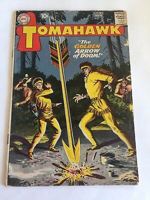 TOMAHAWK 65 Silver Age DC Classic DC 1960s