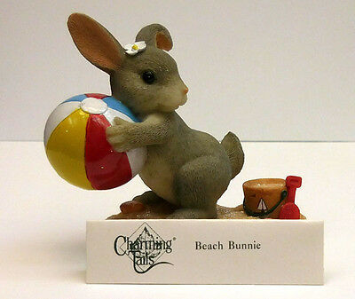 "Charming Tails, Fitz And Floyd,""beach Bunnie"" Item 83/101"