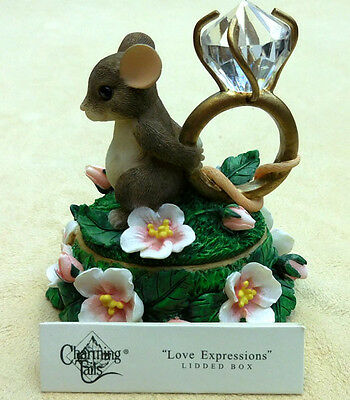 "Charmingtails, Fitz And Floyd, ""love Expressions Lidded Box"" Item 93/211"