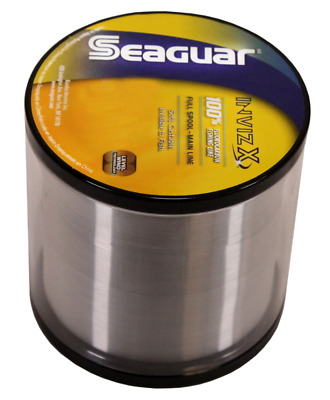 Seaguar Invizx Fluorocarbon Clear Fishing Line 200 Yards Vz200 Select Lb Test