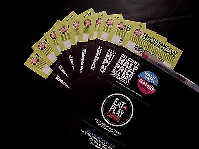 20 - Dave and Busters $20 Game Play w/purchase of $20 Powercard D&B EXP 2/28/18