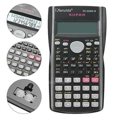 82MS-A Portable  Multi-function 2-Line LCD Display Digital Scientific Calculator