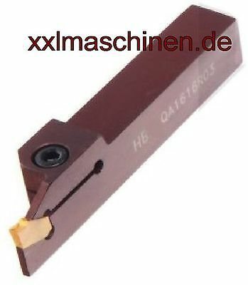 Einstechmeissel Abstechmeissel Abstechmesser Nutmeissel TIN Wendeplatte 14 mm