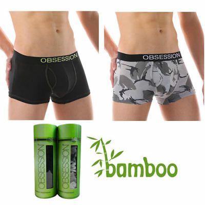 Mens Underwear New Bamboo Boxers Briefs Trunks Jocks Pants  Sizes M,XL,XXL