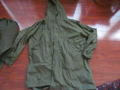 RARE VTG 1951 dated WWII VTG US.ARMY M51 M1951 Parka Shell Jacket Large