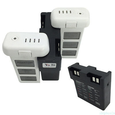 Smart Quick Charge Rapid Multi-Battery Charger Intelligent for DJI Phantom 3 SH1