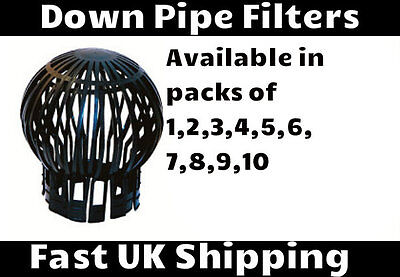 Gutter Balloon Guard Downpipe Filter Debris Down Pipe Leaves Cover Moss