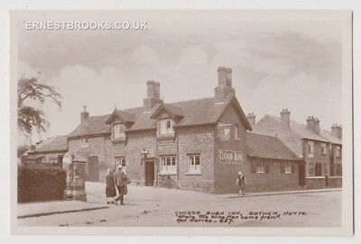 Postcard,Nottinghamshire,Gotham,Cuckoo Bush Inn Where The Wise Men Came From,RP