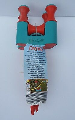 Pair of DrehFix garden hose cable Guides. New with tags