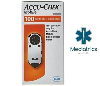Accu Chek Mobile Test Cassettes (100 Tests)