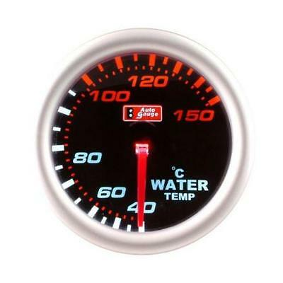 CLEARANCE Stepper Motor Autogauge 52mm Smoked Face Water Temp Temperature Gauge