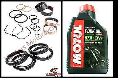 SUZUKI TL1000R FRONT Fork Seals Dust Seal & Fork Bushes Suspension
