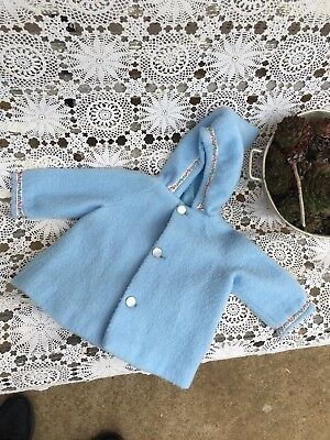 Vintage 1950's Baby Girls 0-1 Winter Coat Jacket