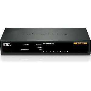 NEW! D-Link DES-1008PA 8 Ports Ethernet Switch 8 X Fast Ethernet Network Twisted